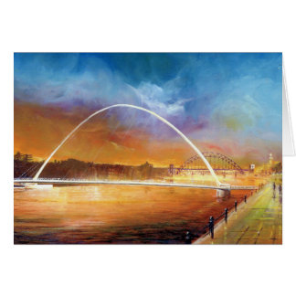 Millenium Bridge Newcastle upon Tyne Card