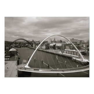 Millenium Bridge Newcastle upon Tyne Invitation