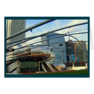 Millenium Park - Chicago Note Card