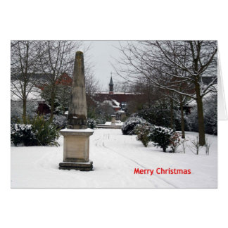 'Millenium Walk in Winter' Christmas Card