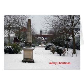 'Millenium Walk in Winter' Christmas Card