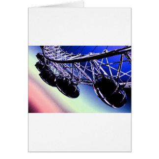 millenium wheel London digital art Card