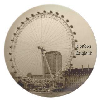 Millenium wheel plate