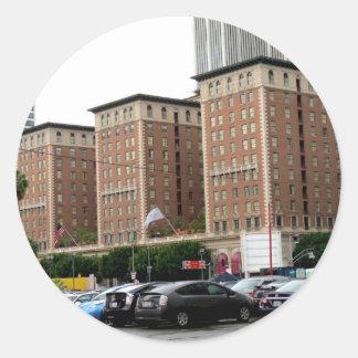 Millennium Biltmore Hotel.png Round Sticker