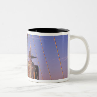 Millennium Bridge, Lowry Centre, Salford Two-Tone Coffee Mug