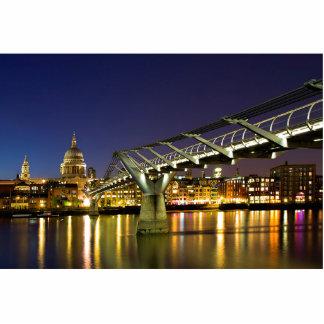 Millennium Bridge Photo Sculpture Key Ring