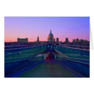 Millennium bridge Thames Bridges Card
