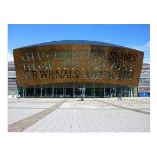 Millennium Centre, Cardiff, Wales Postcard