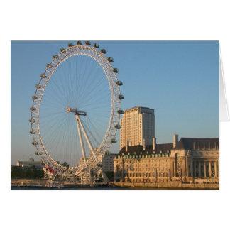 Millennium Eye London Card
