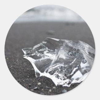 Millennium ice round sticker