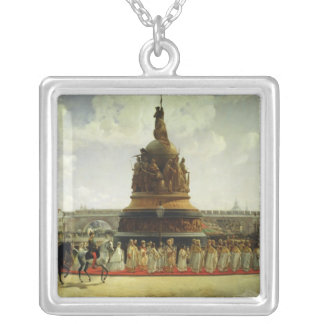 Millennium of Russia Silver Plated Necklace