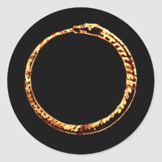 Millennium ouroborus sticker