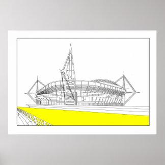 Millennium Stadium Poster