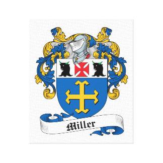 Miller Family Crest Canvas Prints
