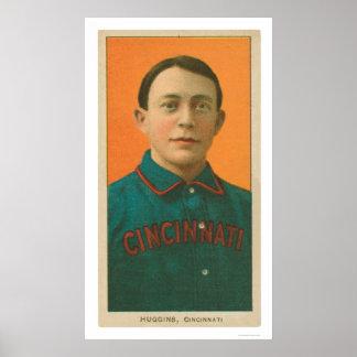 Miller Huggins Baseball 1911 Poster