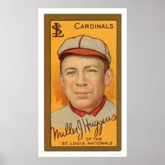 Miller Huggins Cardinals Baseball 1911 Poster
