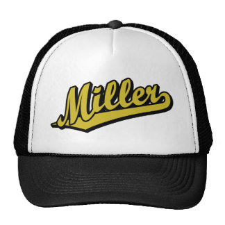 Miller in Gold Cap