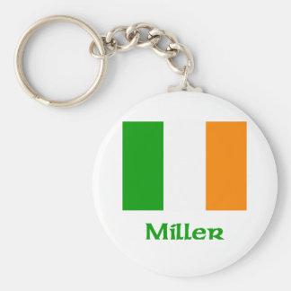 Miller Irish Flag Key Chains