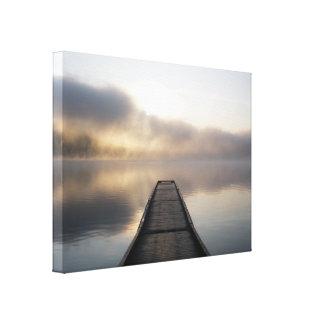 Miller Lake Canvas Prints