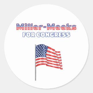 Miller-Meeks for Congress Patriotic American Flag Stickers