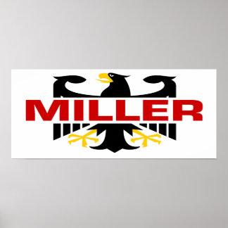 Miller Surname Print