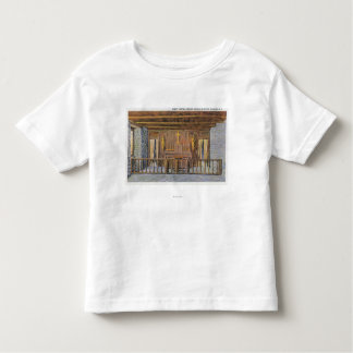 Millet Cross and British Redoubt View Toddler T-Shirt