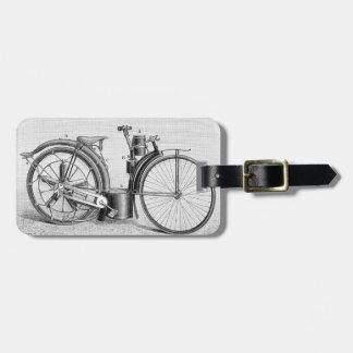 Millet Motorcycle, 1895 Luggage Tag