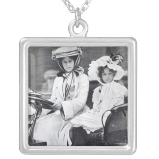Millicent Duchess of Sutherland and her daughter Silver Plated Necklace