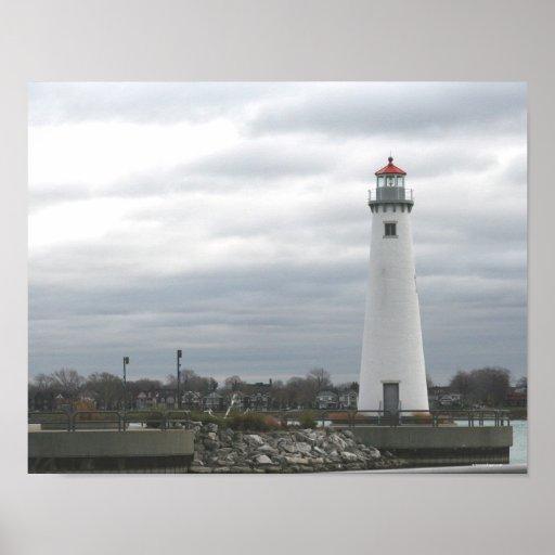 Milliken State Harbour Lighthouse Poster