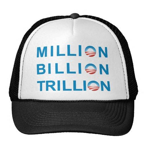MILLION BILLION TRILLION MESH HATS
