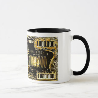 Million Dollar American money collection Mug