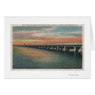 Million Dollar Bridge over Manatee River, Card