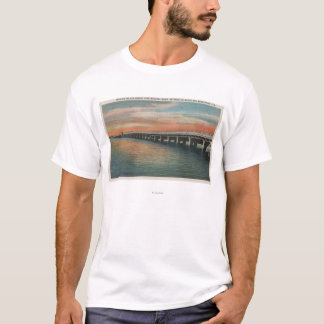 Million Dollar Bridge over Manatee River, T-Shirt