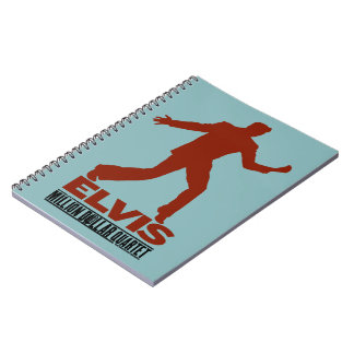 Million Dollar Quartet Elvis Notebook