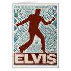 Million Dollar Quartet Elvis Type Card