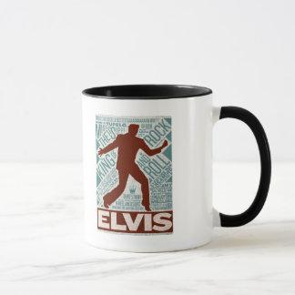 Million Dollar Quartet Elvis Type Mug