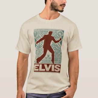 Million Dollar Quartet Elvis Type T-Shirt