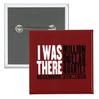 "Million Dollar Quartet ""I Was There"" 15 Cm Square Badge"