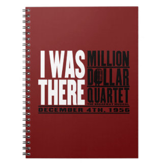 "Million Dollar Quartet ""I Was There"" Notebooks"