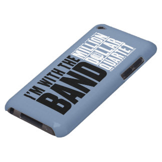 """Million Dollar Quartet """"I'm With the Band"""" Barely There iPod Case"""