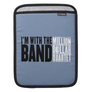 """Million Dollar Quartet """"I'm With the Band"""" iPad Sleeve"""