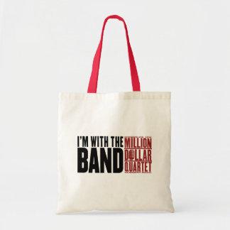 "Million Dollar Quartet ""I'm With the Band"" Tote Bag"