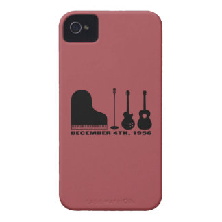 Million Dollar Quartet Instruments - Black Case-Mate iPhone 4 Case