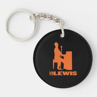 Million Dollar Quartet Lewis Double-Sided Round Acrylic Key Ring