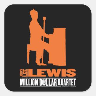 Million Dollar Quartet Lewis Square Sticker
