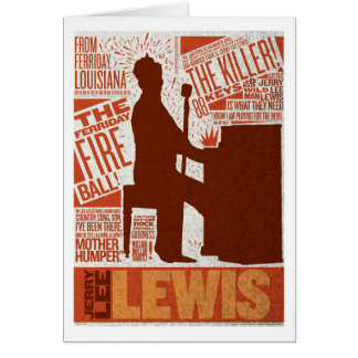 Million Dollar Quartet Lewis Type Card