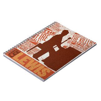 Million Dollar Quartet Lewis Type Spiral Notebook