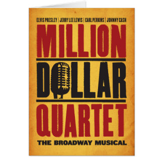 Million Dollar Quartet Logo Card