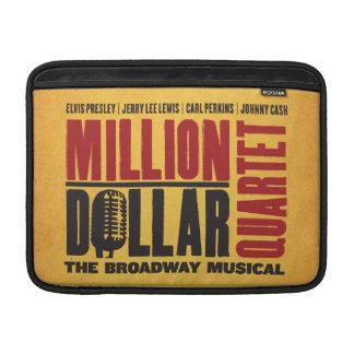 Million Dollar Quartet Logo MacBook Sleeve