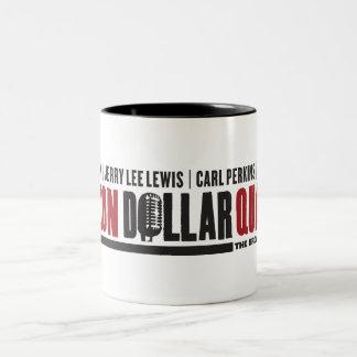 Million Dollar Quartet Logo Two-Tone Coffee Mug